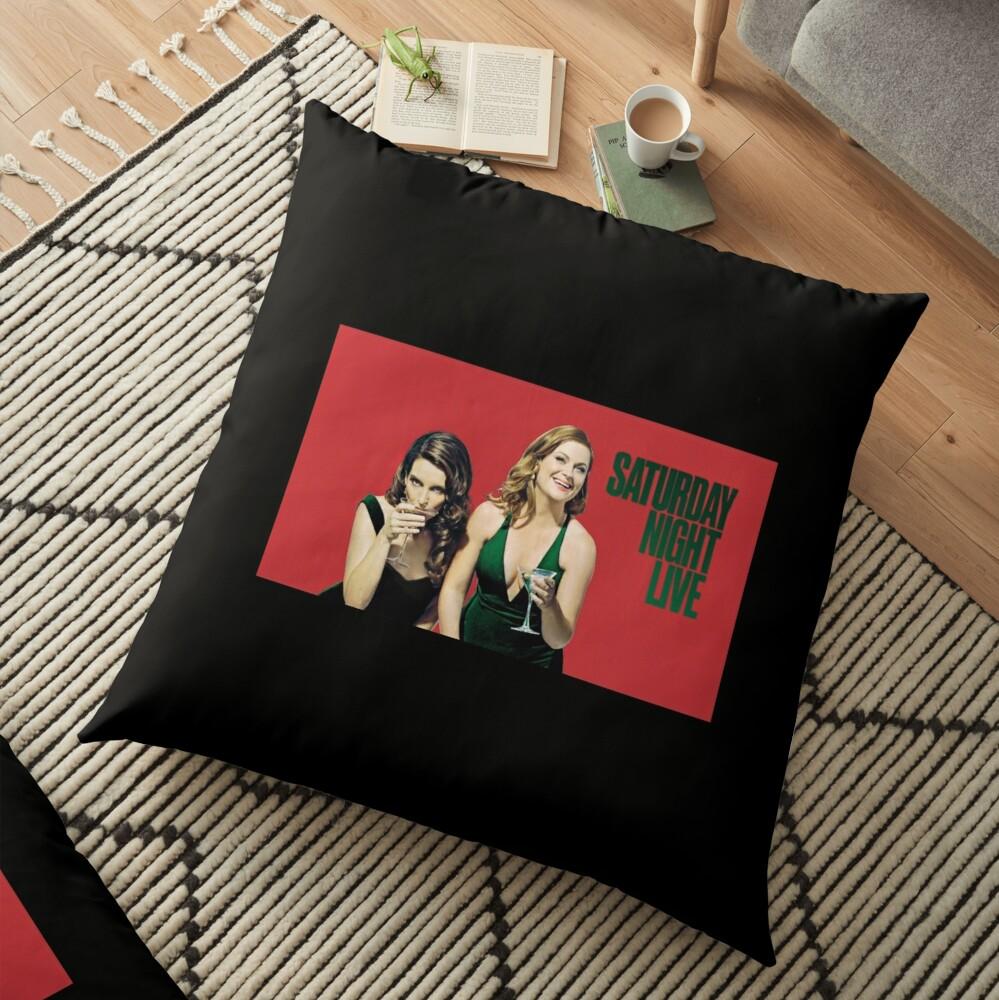 Amy und Tina SNL Bodenkissen