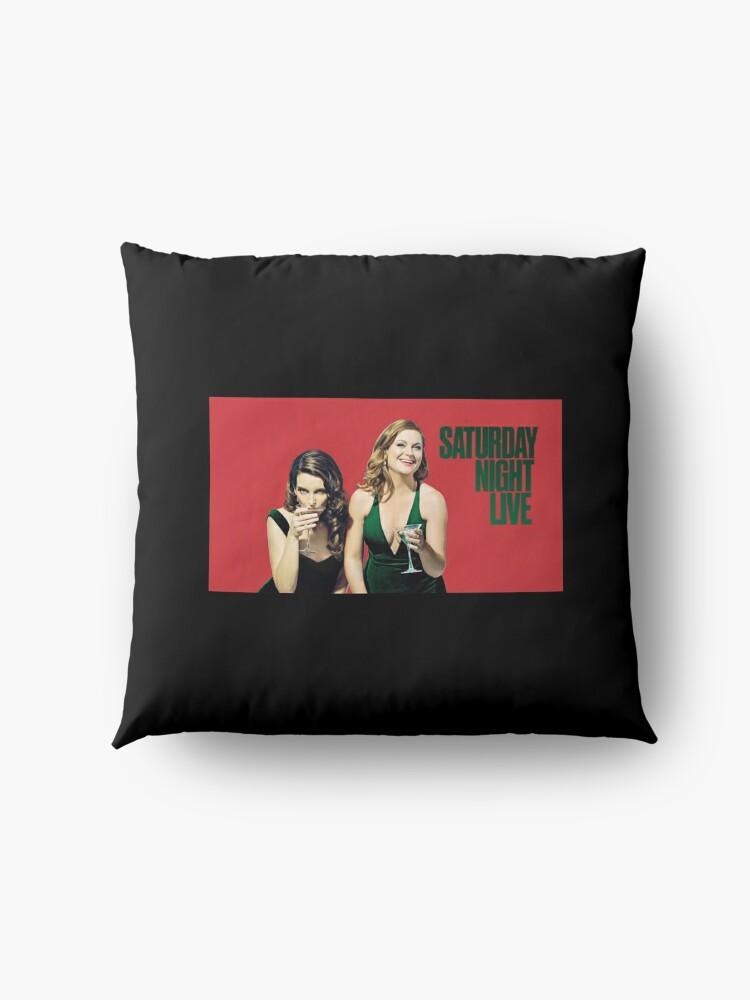Alternative Ansicht von Amy und Tina SNL Bodenkissen
