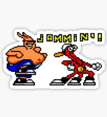 Toe Jammin' Sticker