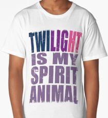 Twilight Sparkle is my Spirit Animal Long T-Shirt