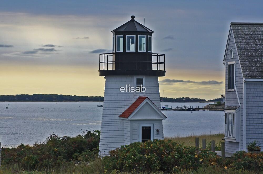 Light House on Cape Cod by elisab