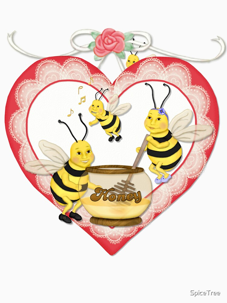Beeing with my Honey by SpiceTree