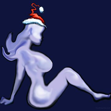 Mudflap Christmas Babe by kevinmiddleton