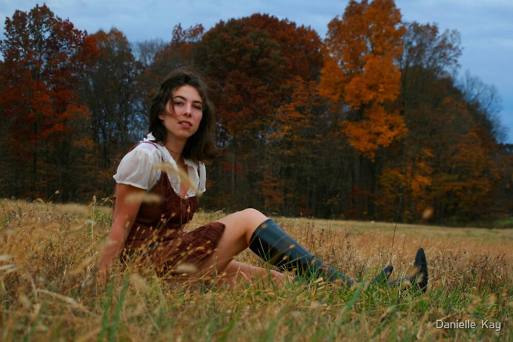 in a field by Danielle  Kay