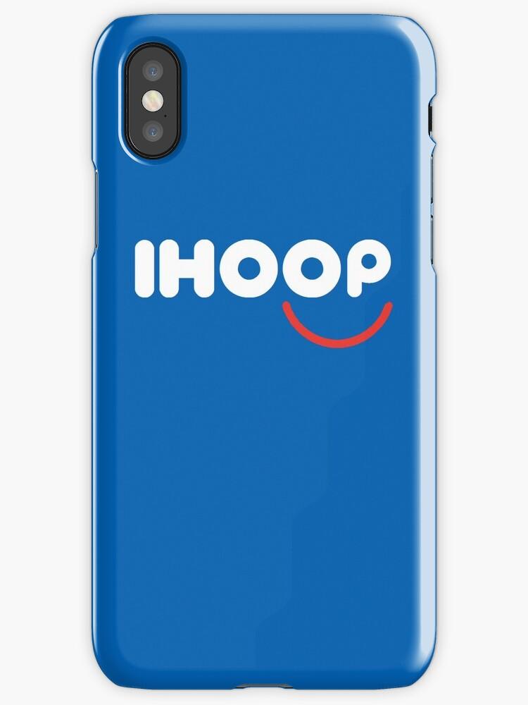 IHOOP Blue Phone Case by Shaun Tayaba