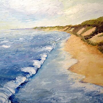 Lake Michigan with Whitecaps by michelle1991