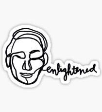 Enlightened Sticker