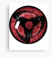 Sharingan Eye Canvas Print