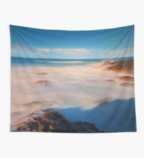 Surf at the Giants Causeway Wall Tapestry