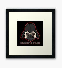 Darth Pug Framed Print