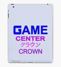 Sailor Moon Crown Arcade  iPad Case/Skin