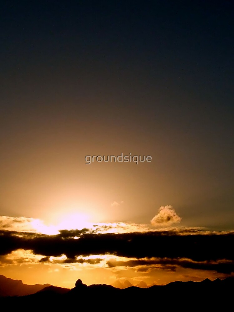 joske's thumb sunset by groundsique