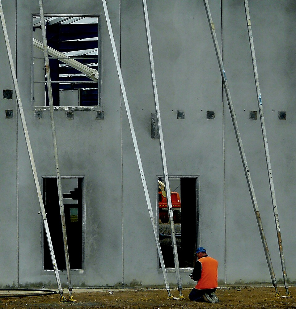 Construction Prayer by Bruce  Watson