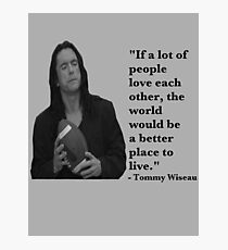 The Room - Tommy Wiseau Photographic Print