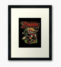 LEGEND OF ZOMBIE TEE SHIRT Framed Print