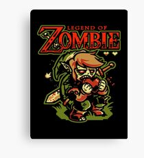 LEGEND OF ZOMBIE TEE SHIRT Canvas Print