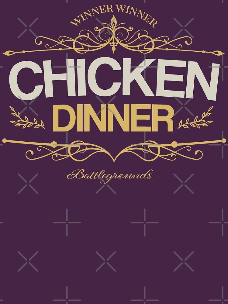 Chicken Dinner PUBG by inexhale