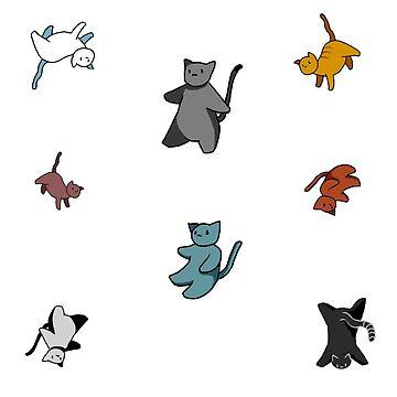 It's raining cats! by gizzysmallzz