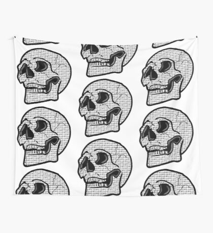 Poker Skull Tapestry