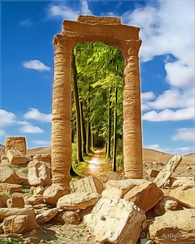 Pillars by ArtByDrew