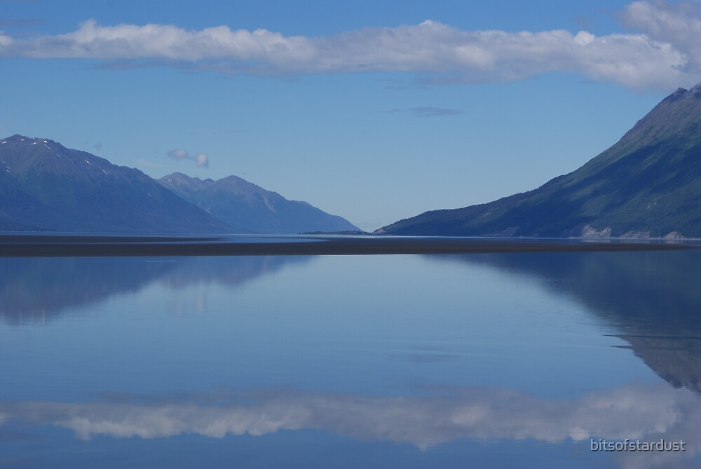 Turnagain Fjord, just south of Anchorage by bitsofstardust