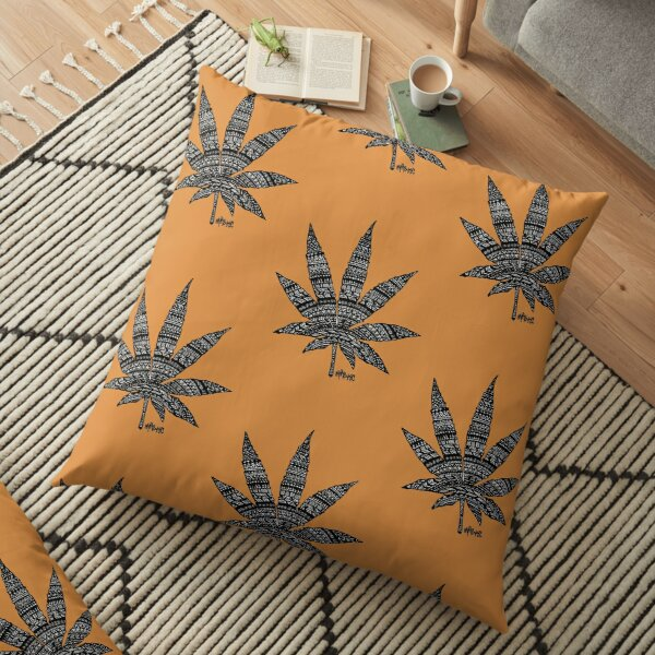 Chronic Leaf Floor Pillow