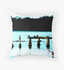 Rest Time Nest TIME Throw Pillow