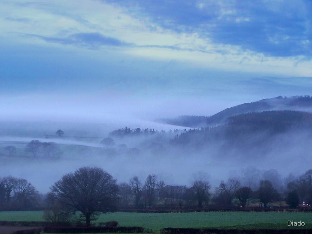 Morning Mists by Diado