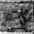 Jigsaw Frottage 4. by Andrew Nawroski