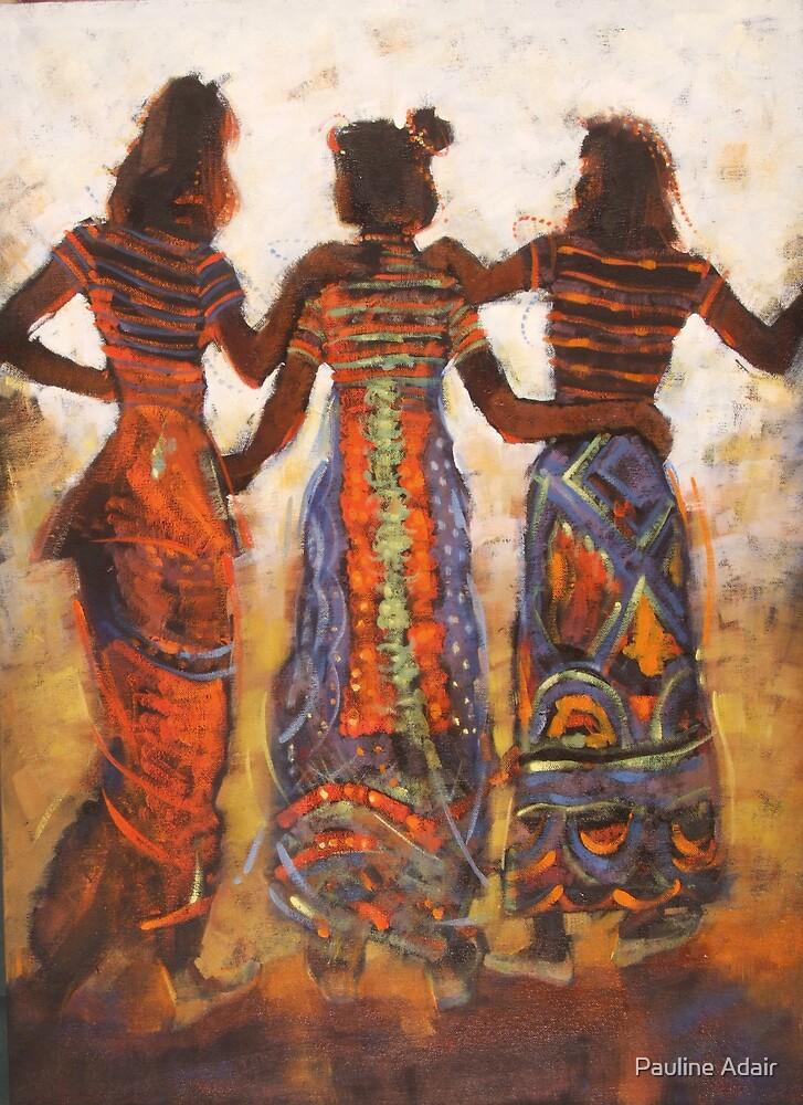 'Afar Dancing' by Pauline Adair