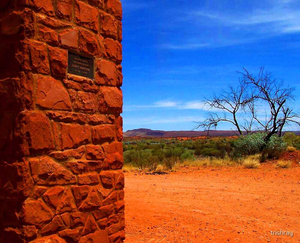 Albert Namatjira   Memorial ,  Northern Territory by trishray