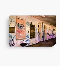 The Walls Canvas Print