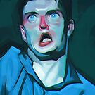 Ian Curtis by Brad Collins
