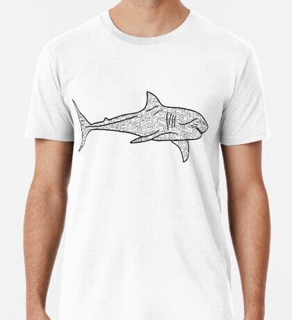Poker Shark Fish Premium T-Shirt