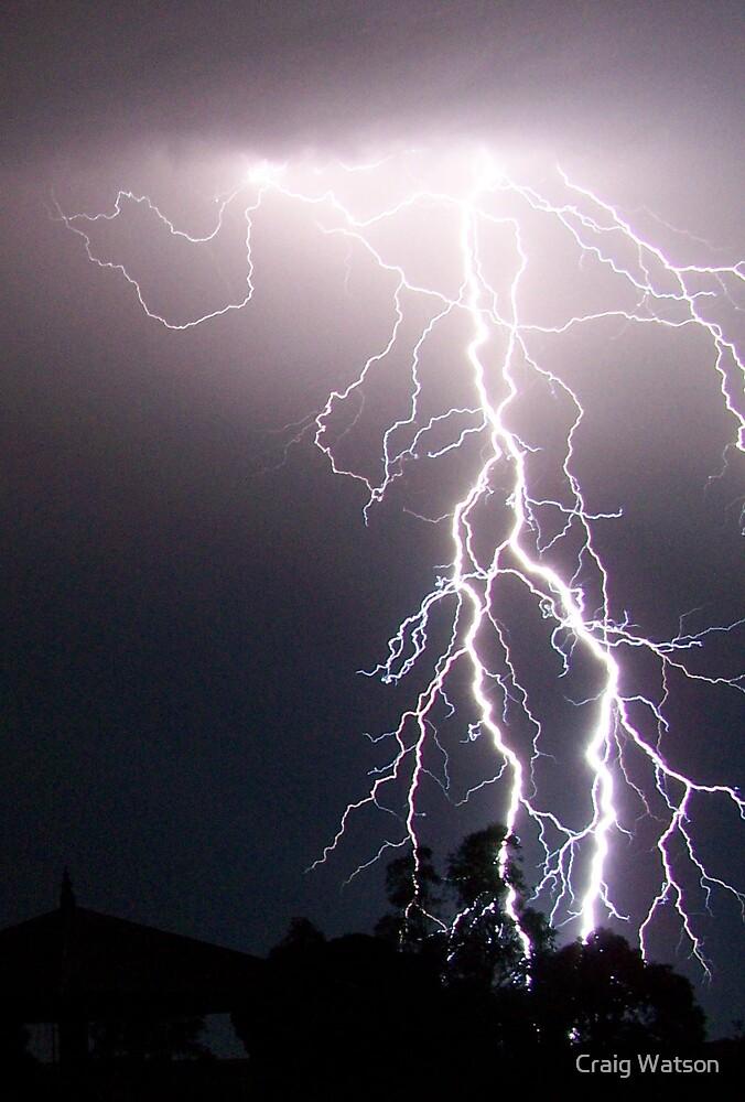 Lightning crashes... by Craig Watson