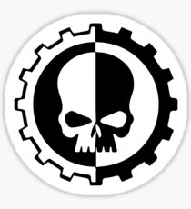 Warhammer 40k Adeptus Mechanicus  Sticker