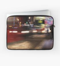 Evening Rush at Piccadilly Circus, London Laptop Sleeve