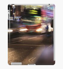 Evening Rush at Piccadilly Circus, London iPad Case/Skin