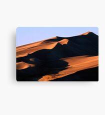 Dune Shadows Canvas Print