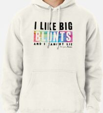 I Like Big Blunts and I Cannot Lie Pullover Hoodie