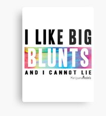 I Like Big Blunts and I Cannot Lie Metal Print
