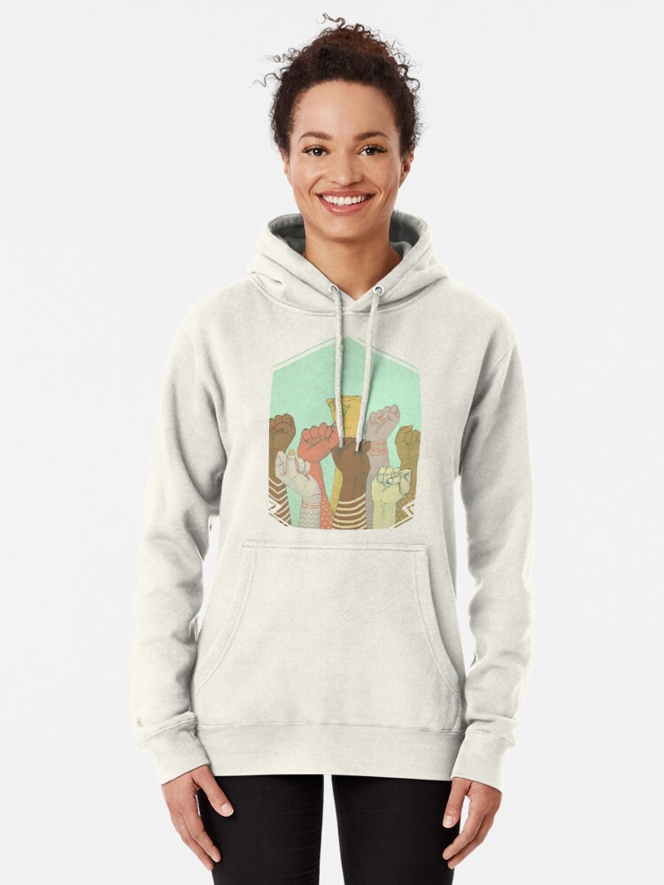 Alternate view of together Pullover Hoodie