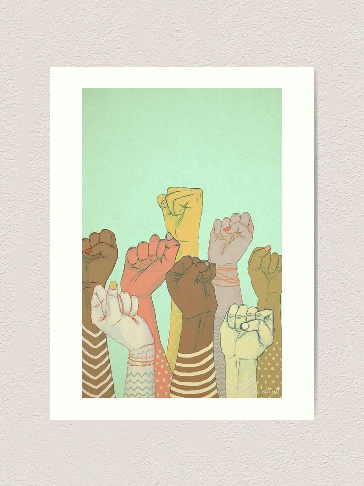 Alternate view of together Art Print