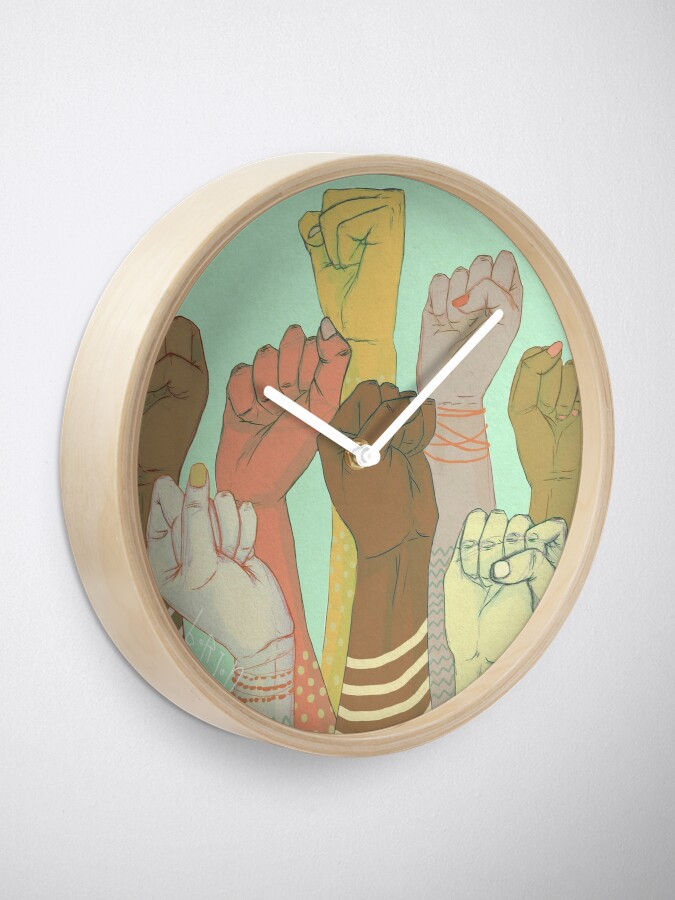 Vista alternativa de Reloj juntos