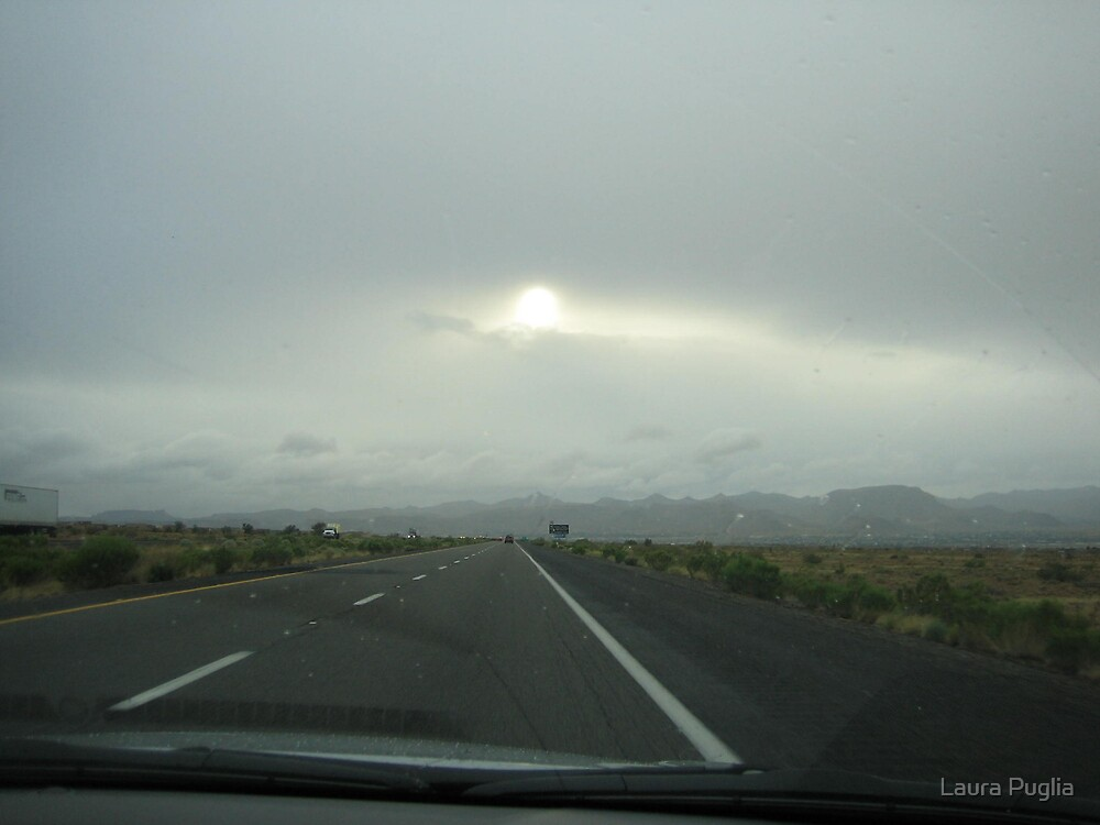 A Lonely Highway by Laura Puglia