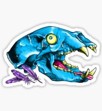 Bear Bones Sticker