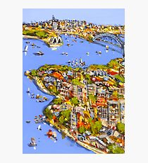 A touch of Sydney Photographic Print