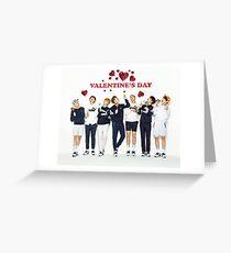 BTS - Valentine's Day Greeting Card