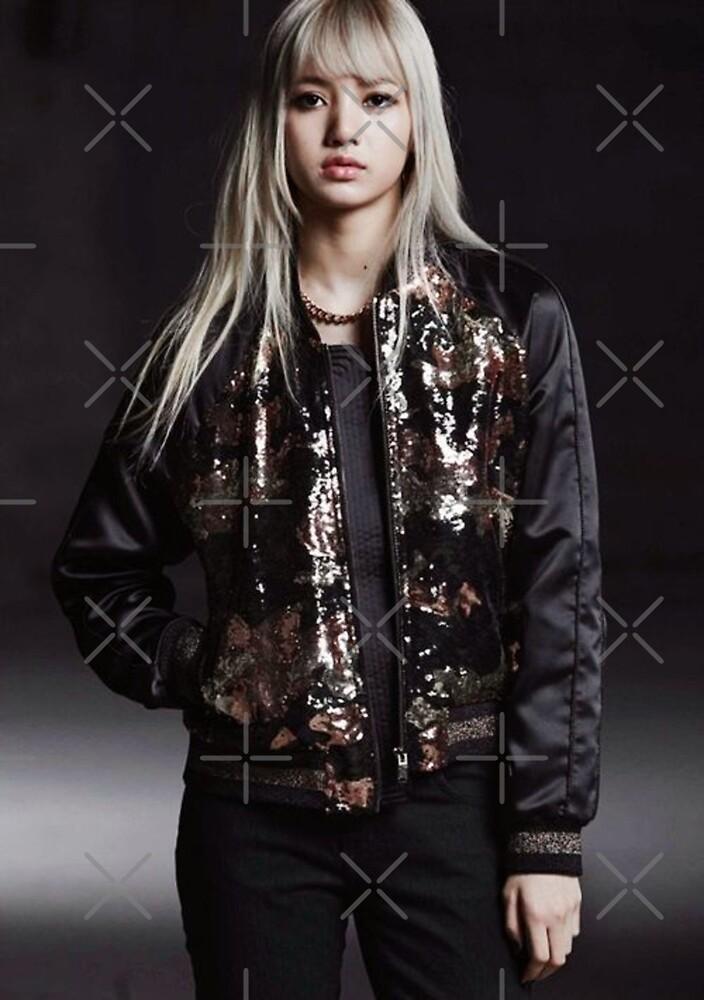 Lisa Blackpink Fur Jacket