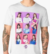 TWICE - One More Time - GROUP Men's Premium T-Shirt